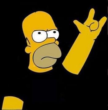 homer rock and roll aft3rdark smokebear edenvon