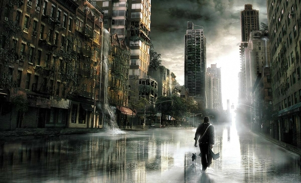 water clouds ruins dogs men destruction science fiction i am legend post apocalyptic 1920x1168 wa_wallpaperbeautiful_39