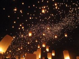Sky Lanterns (and some inner peace stuffs)