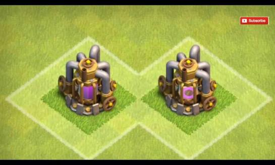 While here on the elixir collector on the left are full while on the right is quite empty..