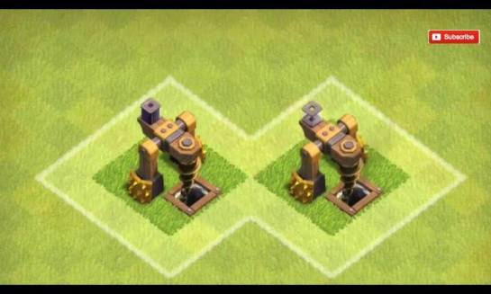 Now, on this dark elixir drill from the right.. If you noticed the dark square thing on top.. that's where the drill stored and that shows full while on the right, it's empty..