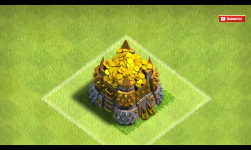 overflowing gold storage